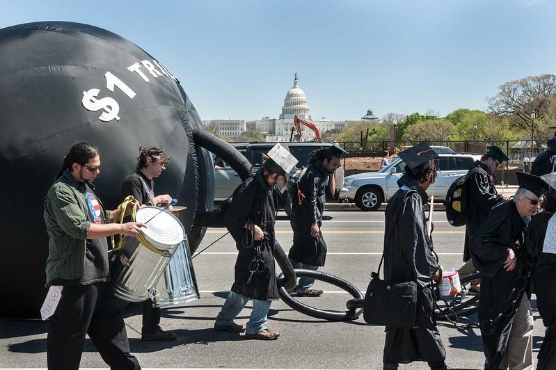 Student Debtors March