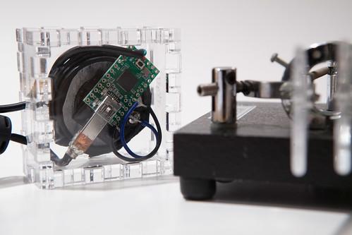 Morse Code keyboard - Trammell Hudson's Projects