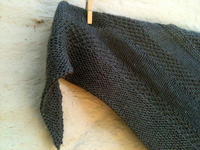 Mary's textured shawl