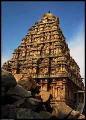 Gopuram of Darasuram Airavateswarar Temple