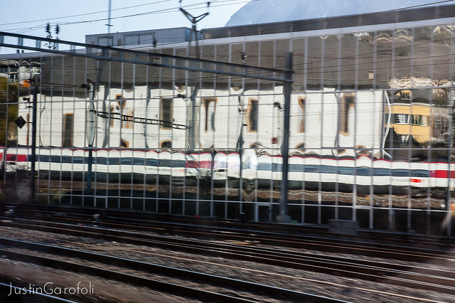 Train Reflections II
