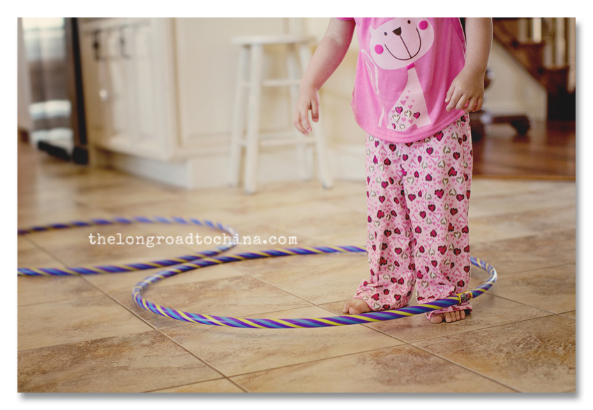HulaHoop Around the Ankles BLOG
