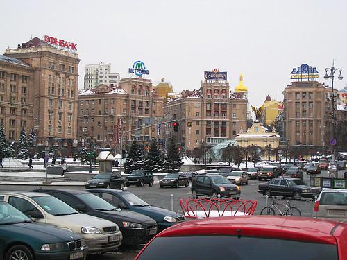 Kyjev aneb Přes Kresčatik do rodného domu Mistra Bulgakova (1)