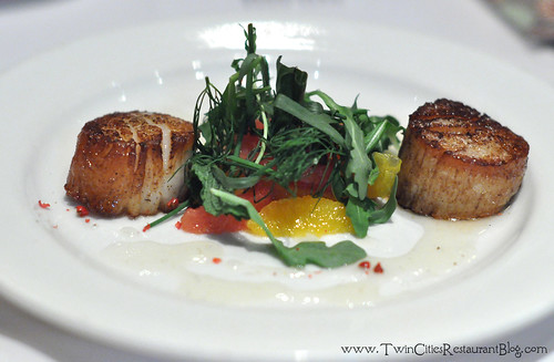 Scallops at Pazzaluna ~ St Paul, MN