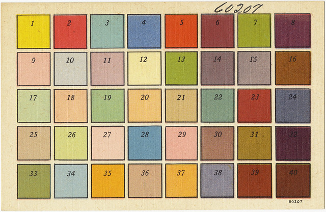 How To Use Color Chart Flickr Photo Sharing