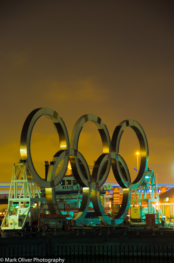 Olympic Rings - London 2012