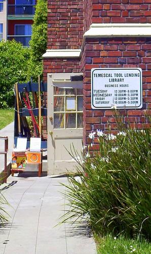 Temescal Tool lending library
