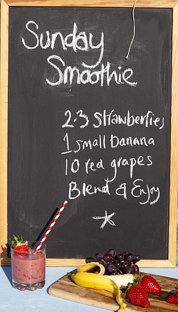 Sunday Smoothie Chalkboard