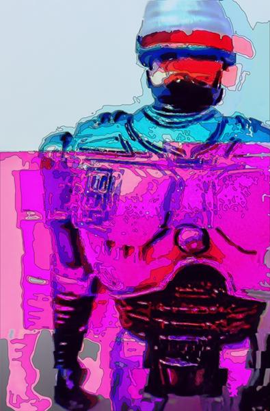 Psychedelic Robocop