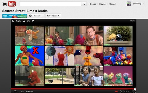 YouTube's New Window Pane Interface