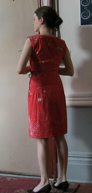 nani iro fabric, 1960s dress