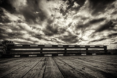 Bridge and Clouds-.jpg by Mully410 * Images