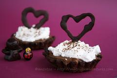 ancutza* ha postato una foto:la ricetta dell crostatine al cioccolato con crema di nutella è qui matrioskadventures.com/2012/03/02/crostatine-al-cioccolat...