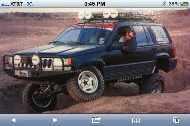 Jeep Zj Overland