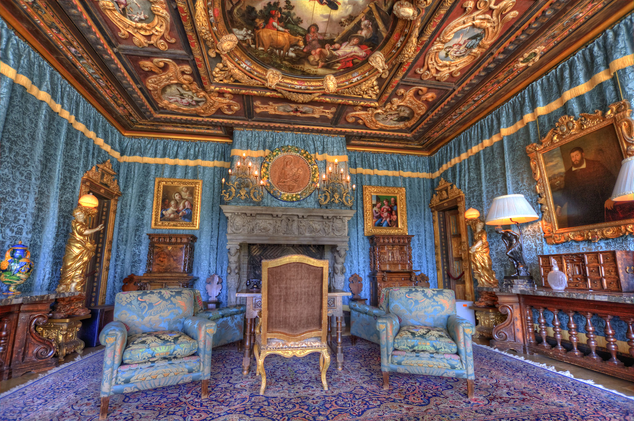 Hearst Castle Doge's Suite | Flickr - Photo Sharing!