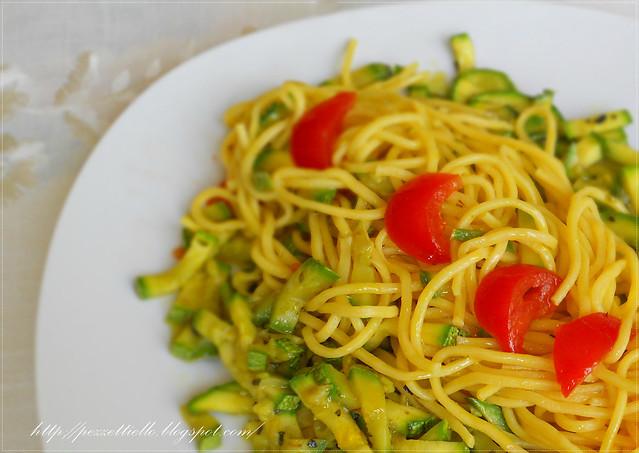 Spaghetti primaverili