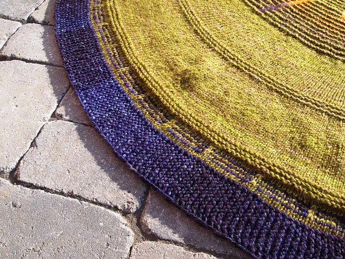 handspun Old Forge blanket