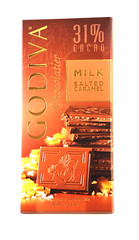 Godvia Milk Chocolate Salted Caramel