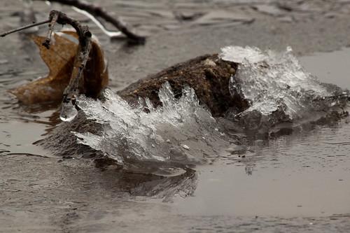 Deep Creek Lake Frozen 2