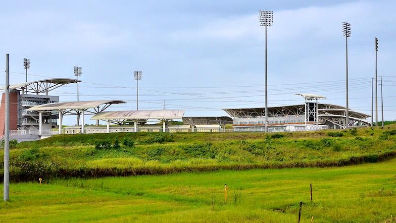 Criquet stadium in Trinidad