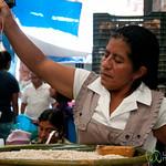 Making Tejate Drink - Etla Market, Oaxaca
