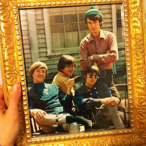 Framed photo of the Monkees.