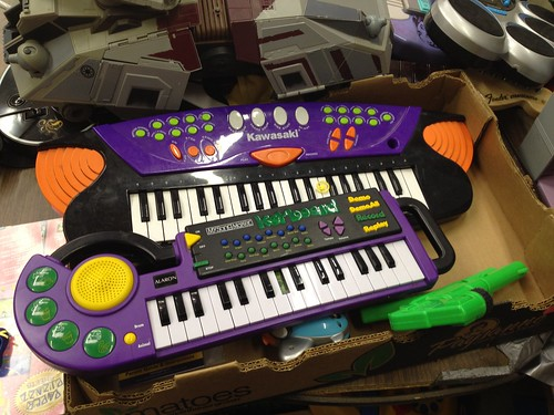 Toy Keyboards by oliverchesler