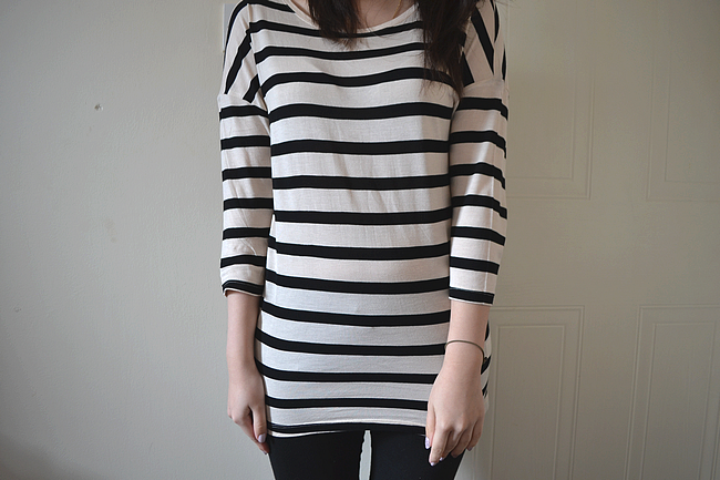 daisybutter - UK Style Blog: what i wore, h&m, simple outfit, perfect 10, spring 2012