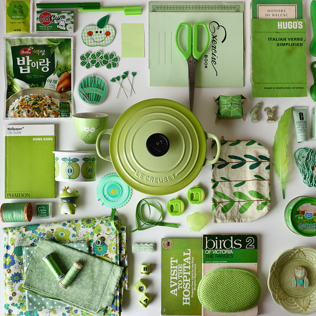 Collecting Colour : March is Green
