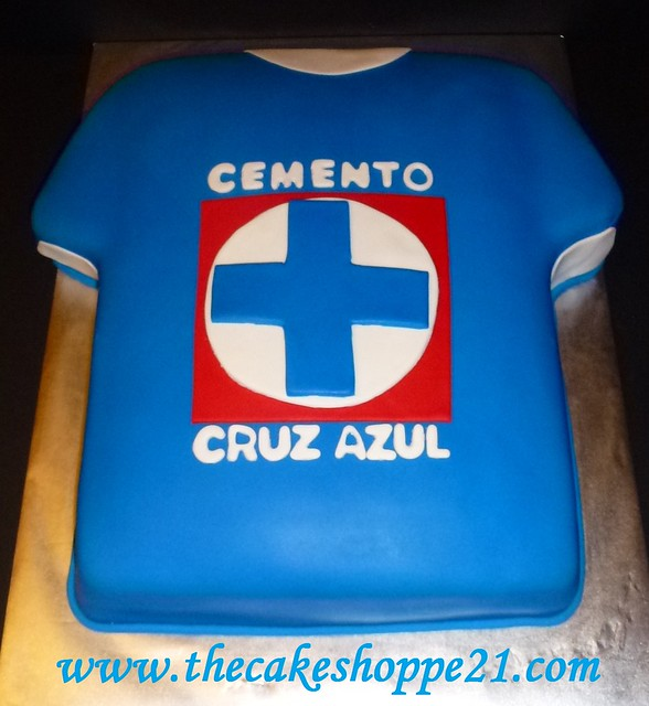 cruz azul cakes