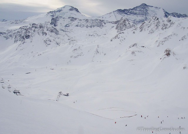 Tignes Ski Resort in the French Alps