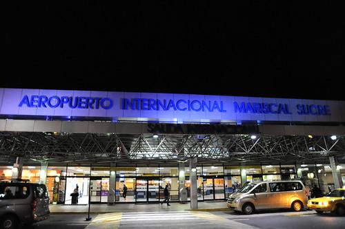 キトの空港
