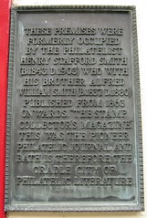Photo of Henry Stafford Smith bronze plaque