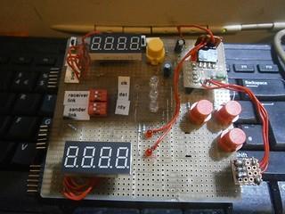 serial LED display