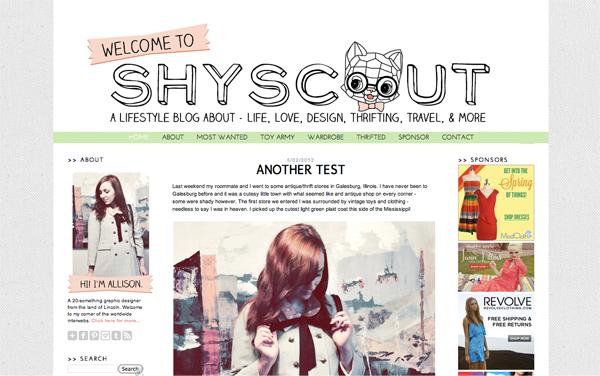 ShyScout Layout #2