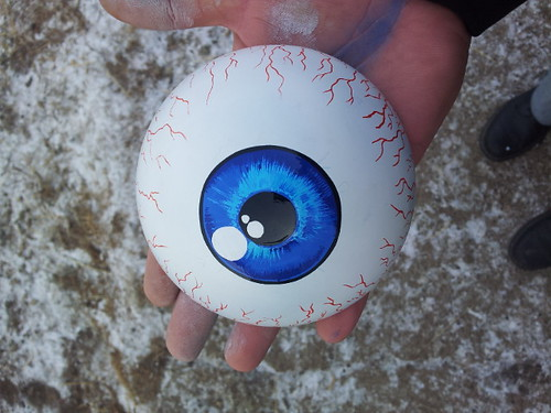 blue eyeball