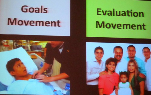 Goals vs Evaluation Movements