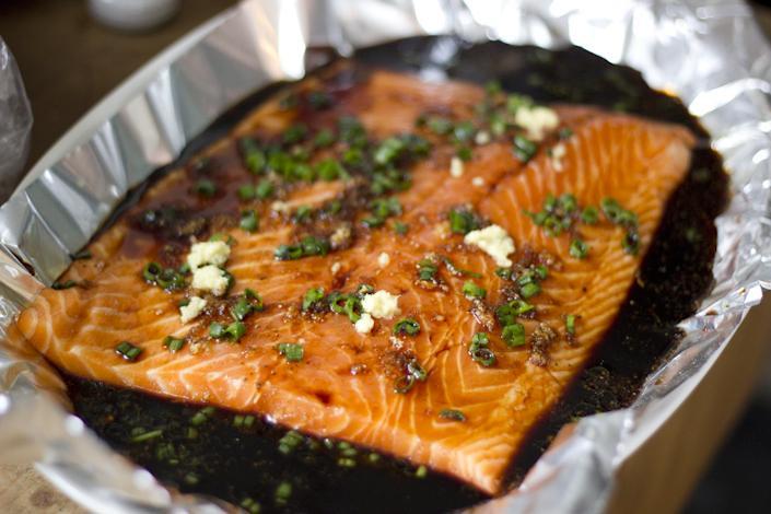 Andrew's Salmon.