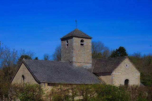 Église St Marcel mont Lassois à Vix