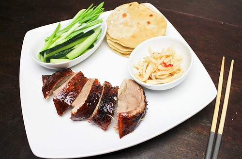 Quicker Peking Duck w Pancakes