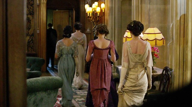 DowntonAbbey_eveninggownsbacks