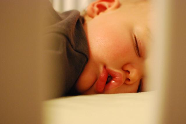 Sleeping Henry 4/11/12
