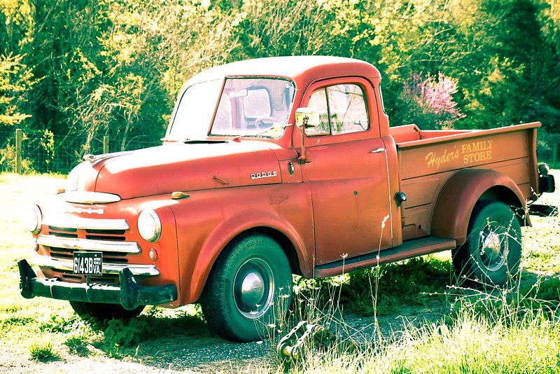 49 Dodge Truck Transportation In Photography On The