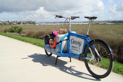 Cargo-Snooz'n on the Devonport Green Route