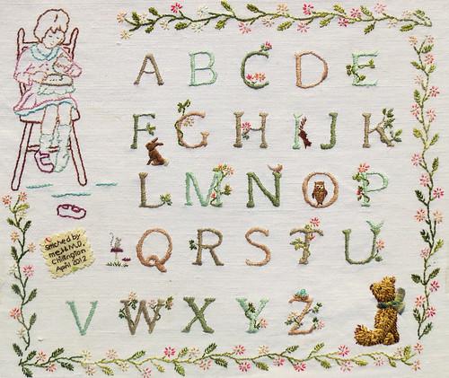 Alphabet Sampler