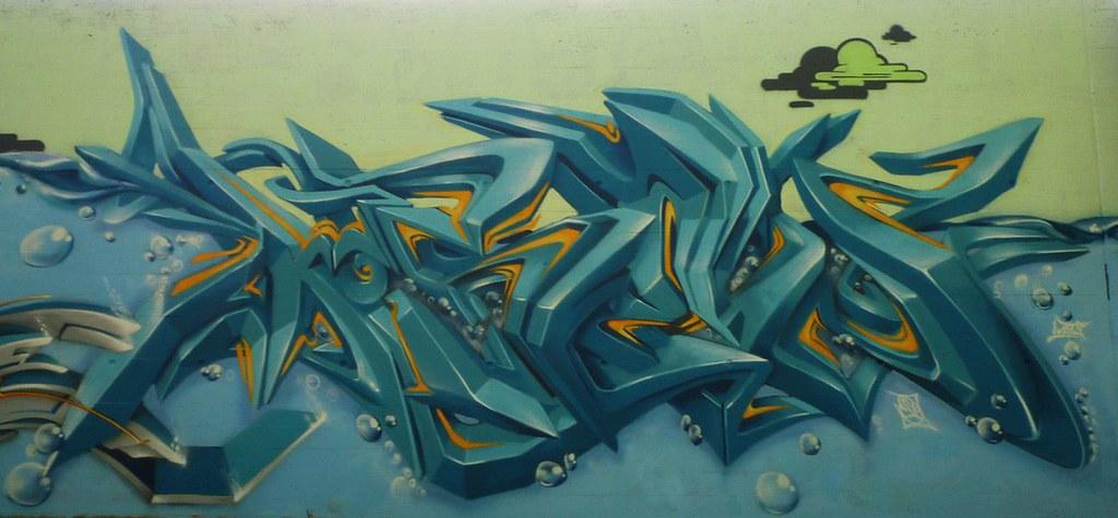 Граффити стили 3d