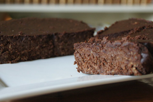 chocolate almond cake DSC07380