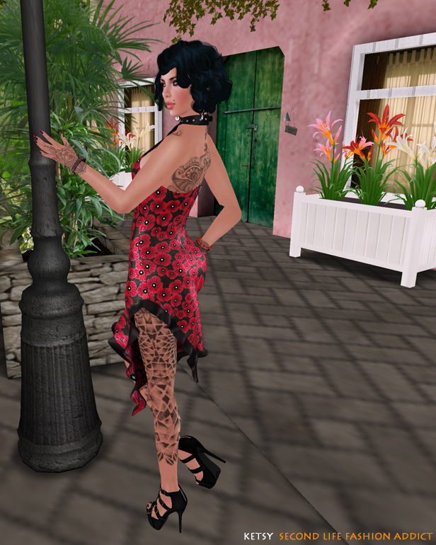 Something Wild - NEW Blog Post @ Second Life Fashion Addict
