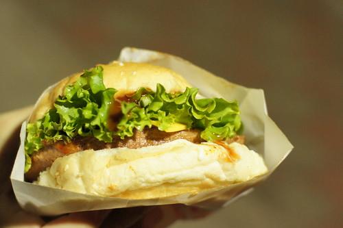 喬治素食漢堡