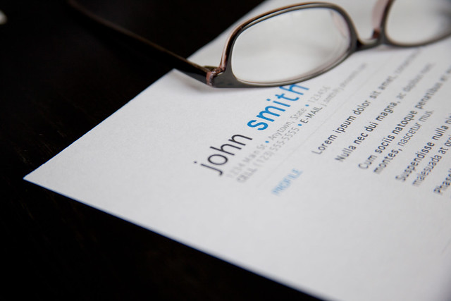 Resume - Glasses from Flickr via Wylio